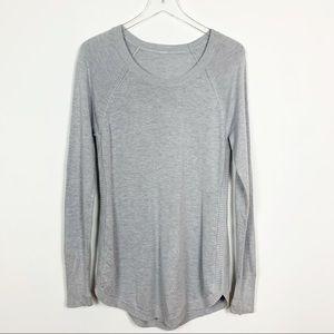 lululemon   Hello Aloe Pullover Sweater Grey